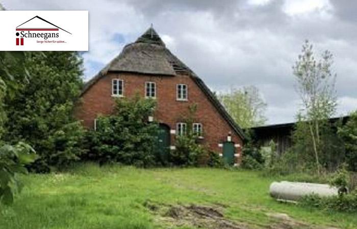 AFA 12 % 2020 Einmaliger historischer Denkmal geschützter Resthof – Nähe Bremen