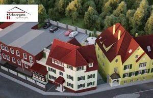 Helle 3 Zimmer Wohnung im historischem Denkmal, mit Dachterrasse